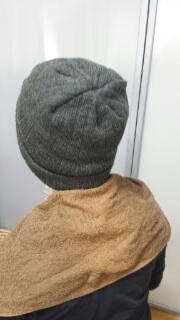ヘナニット帽